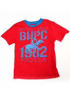 Sizes 8-20 - Big Kids - BHPC CREW NECK TEE (8-18)