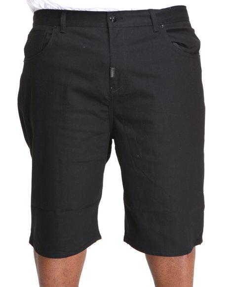 LRG Men Black Core Collection Denim Shorts (B&T)
