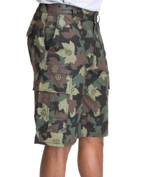 Lrg Men Camo Core Collection Classic Cargo Shorts