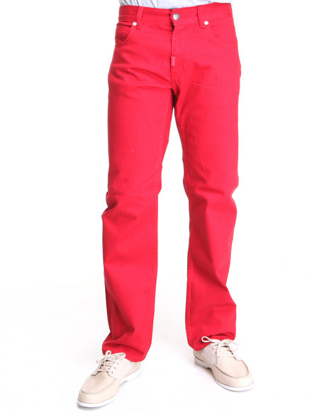 LRG Men Red Whole World Ts Pant