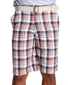 Men - Mens Plaid Shorts