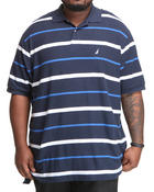 Shirts - Stripe Performance Polo (B&T)