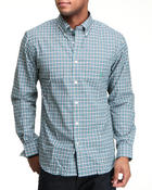 Shirts - Mini Plaid  Button Down