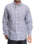 Nautica - Plaid Poplin Long Sleeve Button-Down