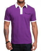 Shirts - Short Sleeve Knit Polo