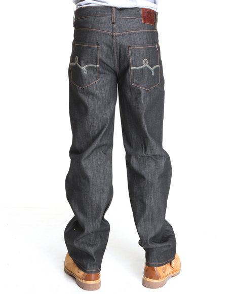LRG Men Black Bandino C-47 Jean
