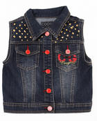 Girls - DENIM VEST (7-16)