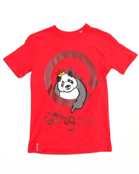 LRG Boys Red The Homeboy Panda Tee (8-20)