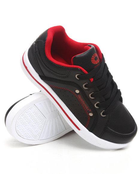 Akademiks Boys Black Perforated Lo Sneaker (11-3)