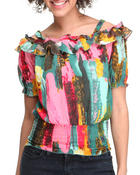 Women - Open Shoulder Top