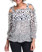 Women - Polka Dot Top