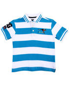 Short-Sleeve - STRIPED POLO (4-7)
