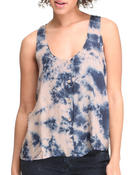 Basic Essentials - Tye Dye Tank Top