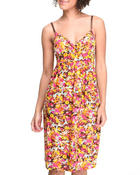 Women - Floral Empress Cut Dress