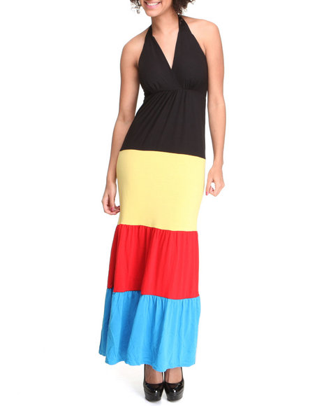 Basic Essentials Women Black Sunkiss Maxi Dress