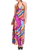 Basic Essentials Women Sunkiss Maxi Dress Purple Large
