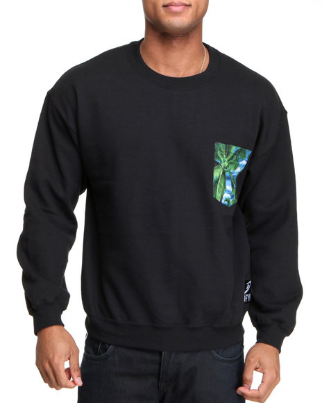 Buyers Picks - Men Multi Crewneck Sweatshirt