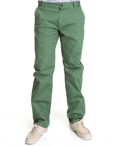 LRG Men Forest Green Cornelius Chino Ts Pant