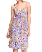 Dresses - Floral Empress Cut Dress