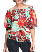 Women - 3/4 Sleeve Top
