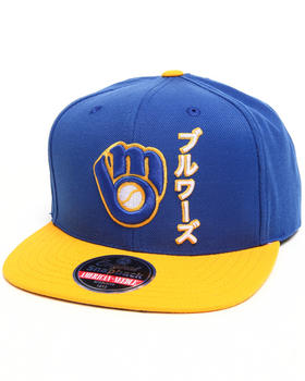 American Needle - Milwaukee Brewers Tokyo Pop Snapback hat