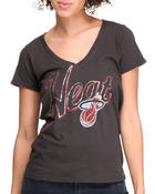 Women - Miami Heat V-Neck Tee