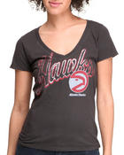 Women - Atlanta Hawks V-Neck Tee