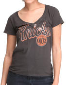 Women - Knicks V-Neck Tee