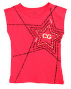 Girls - COOGI STAR TEE (4-6X)
