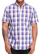 Nautica - Vineyard Poplin Short Sleeve Button-Down