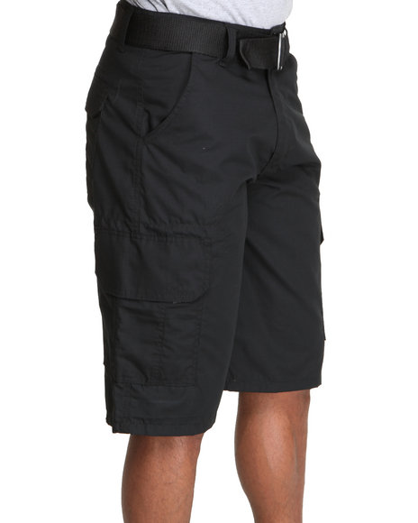 Enyce Men Black Redemption Cargo Short