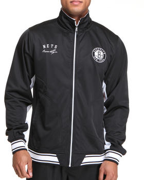 NBA, MLB, NFL Gear - Brooklyn Nets Anderson track Jacket