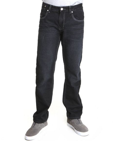 Basic Essentials Men Dark Wash Ak 48 Denim Jeans