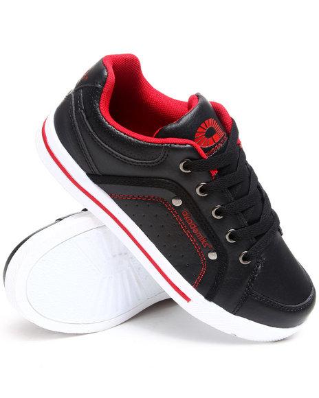 Akademiks Boys Black Perforated Lo Sneaker (3.5-7)