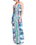 Dresses - Maxine Halter Maxi Dress