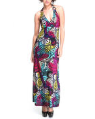 Basic Essentials - Mhonica Fiesta Maxi Dress