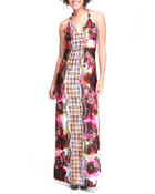 Women - Maxine Halter Maxi Dress