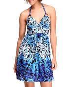 Women - Tropical Storm mini dress w/halter