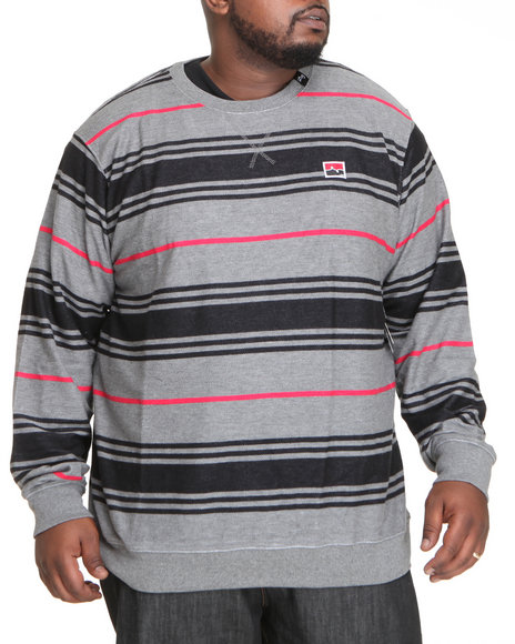 LRG Men Charcoal Resolutionary Voyage Sweatshirt (B&T)