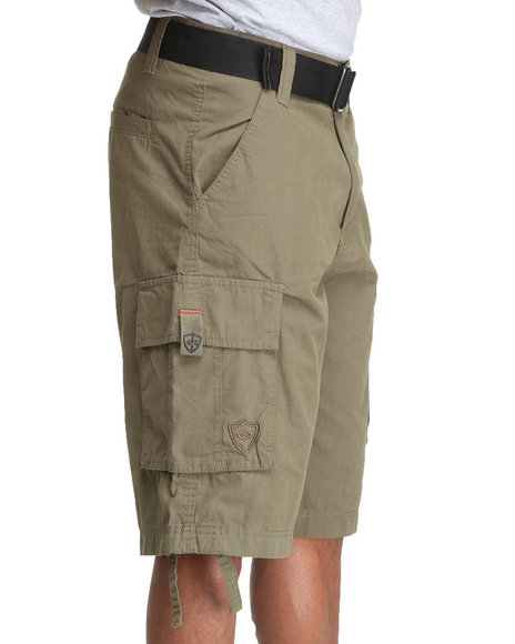 Enyce Men Forest Green Chameleon Short