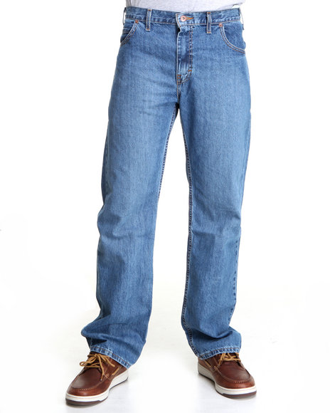 Dickies Light Wash Relaxed Straight Fit 5-Pocket Jeans
