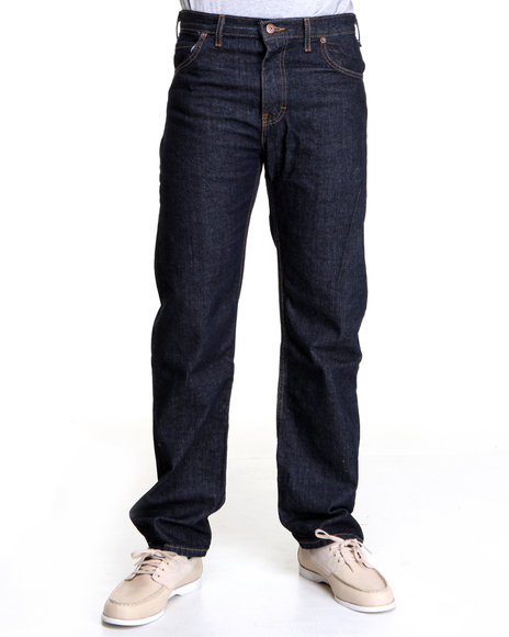 Dickies Dark Wash Regular Straight Fit 5-Pocket Jeans