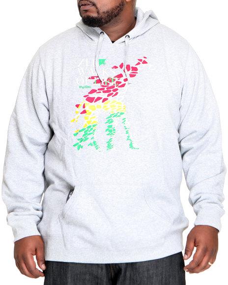 LRG Men Grey All Walks Of Life Pullover Hoodie (B&T)