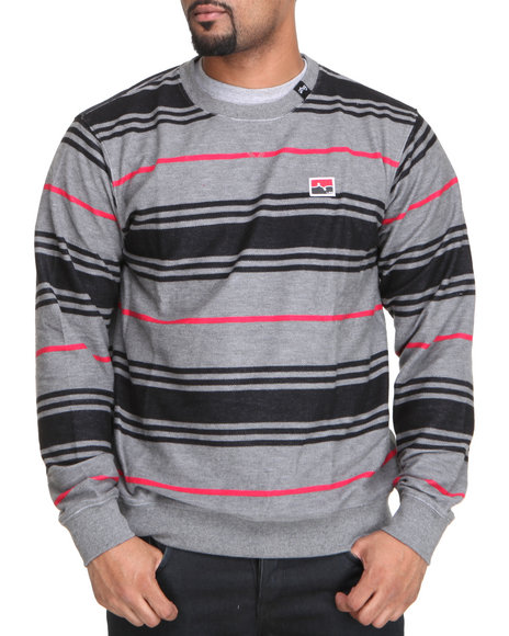 LRG Men Charcoal Resolutionary Voyage Sweatshirt