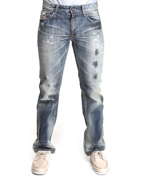 Rocawear Men Indigo Desert Straight Fit Jeans