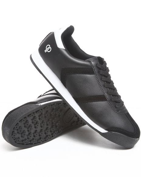 Pelle Pelle Men Black Suede Toe Casual Sneaker