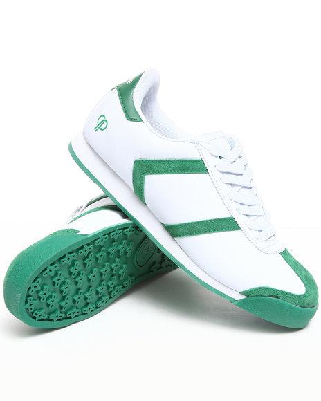 Pelle Pelle Men Green Suede Toe Casual Sneaker