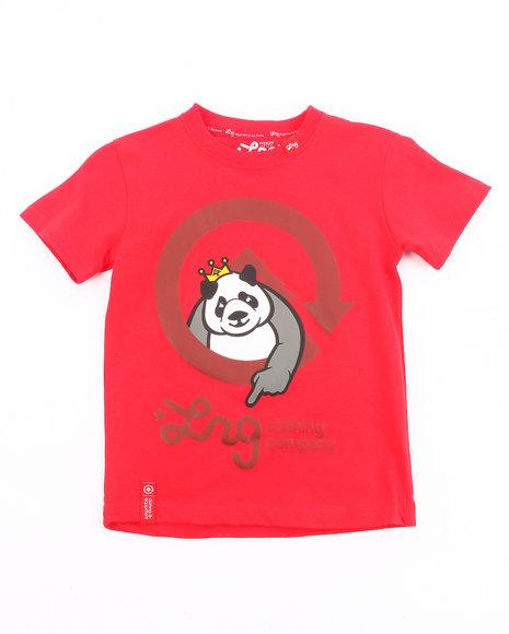 LRG Boys Red The Homeboy Panda Tee (4-7)