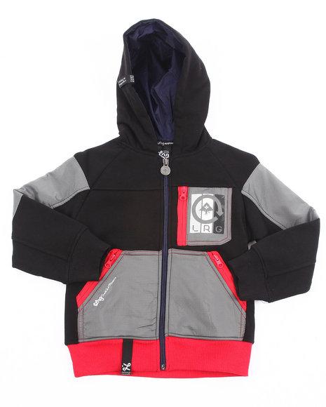 LRG Boys Black Artic Trails Jacket (8-20)