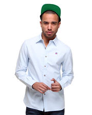 Button-downs - L/S Oxford w/ Helmet Detail